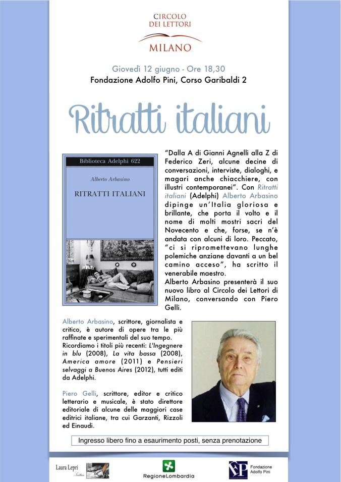 Arbasino al Circolo dei Lettori di Milano